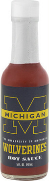 Michigan Wolverines Hot Sauce