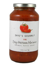 Dave's Gourmet Spicy Heirloom Marinara Organic Pasta Sauce