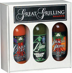 Great Grilling Sauces Gift Set